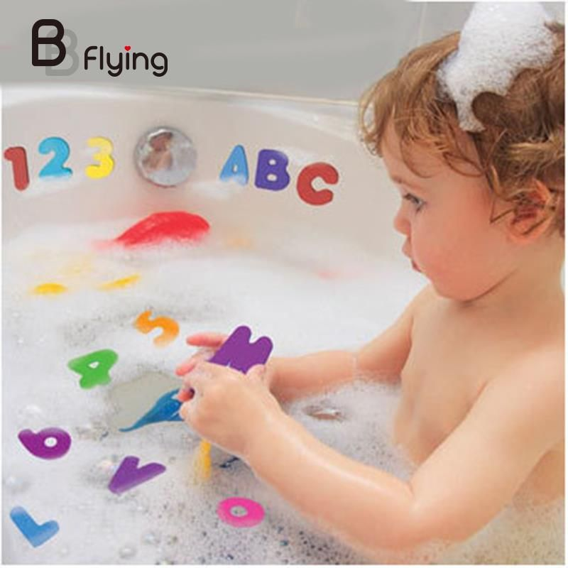 Soft EVA Baby Bath Animal Puzzles Foam Floating Kids Early Educational Toy