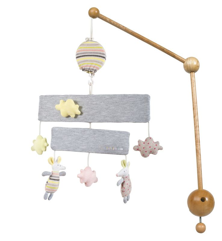 Moulin Roty Mobile Musical Les Petits Dodos Mobile Musical