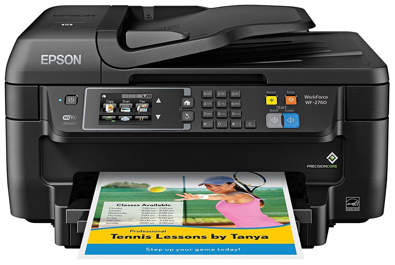 Epson Wf 2760 Wi Fi Direct All In One Wireless Printer Wireless Printer Printer Scanner Printer