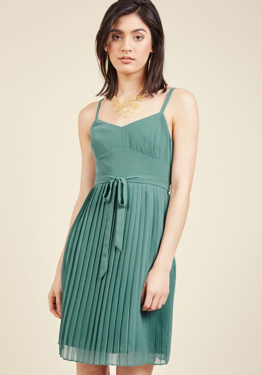 Sage Dress ModCloth