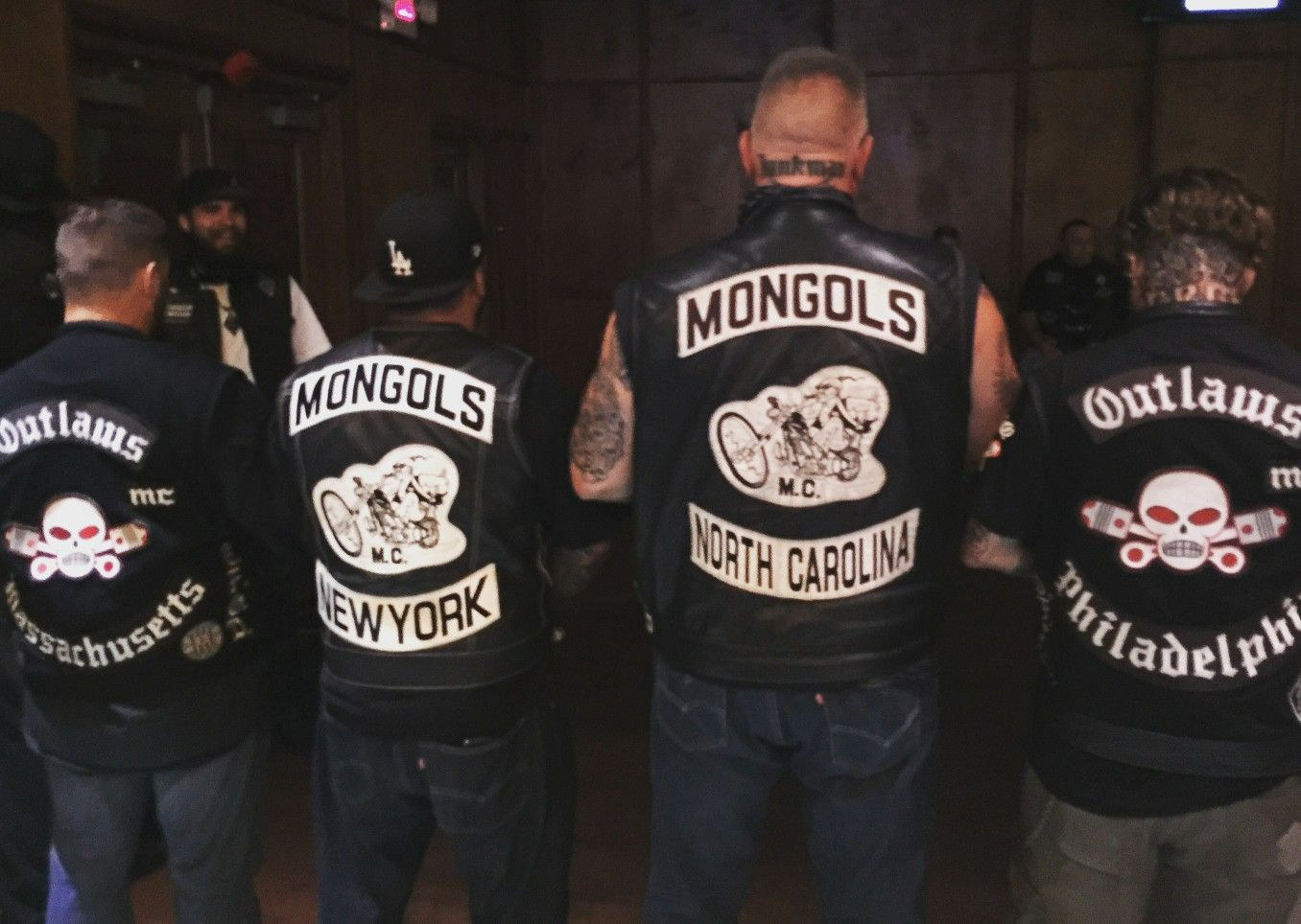 Black And White Mongols Mc And Outlaws Mc Junkman 1 With