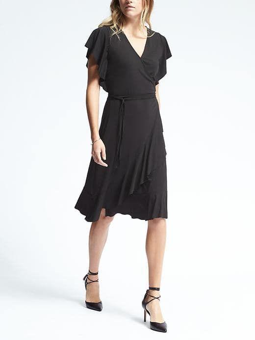 16d0b072d Flounce Wrap Dress/Banana Republic   Things I LOVE, LIKE, WANT, NEED ...