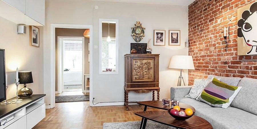 Kleine Wohnung Design Wohnungen Wohnzimmer Schwedisch Stil Ikea Mbel