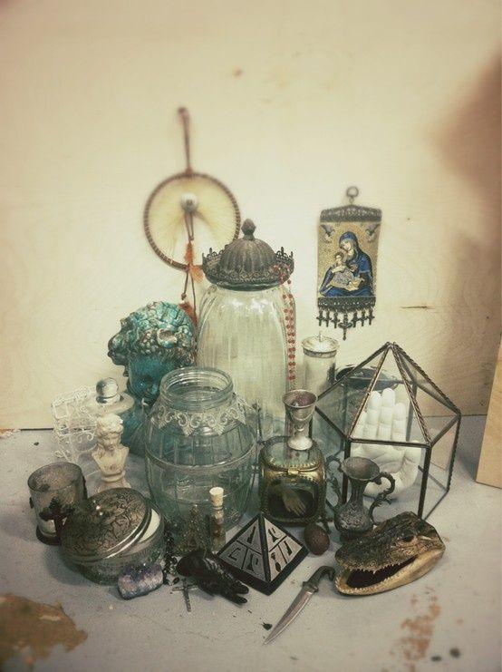 Boho glassware
