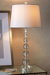 Stacked crystal table lamp lamps and lightings pinterest house stacked crystal table lamp aloadofball Choice Image
