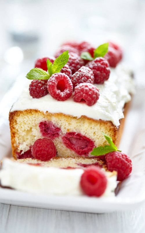 Raspberry Cakethis recipe would be awesome with any fruit berry