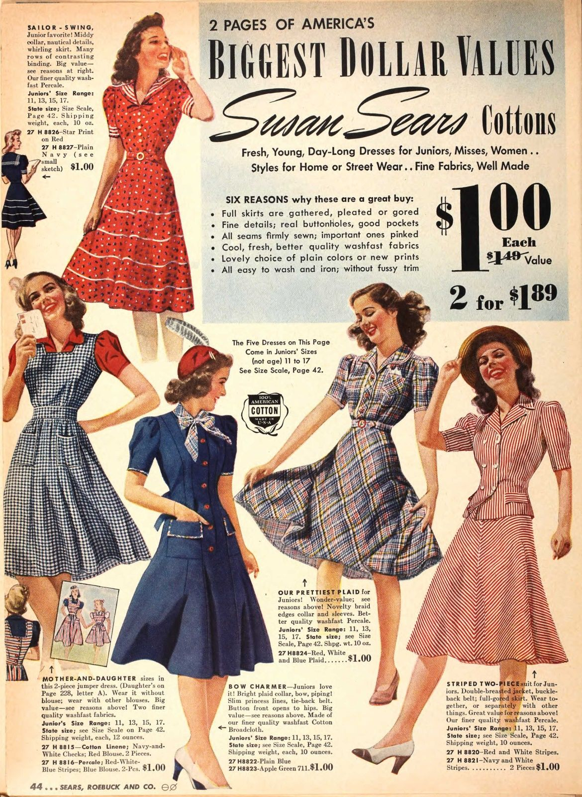 1940s Fashions In Red White Blue With Images: 1940s Fashions In Red, White & Blue (With Images)