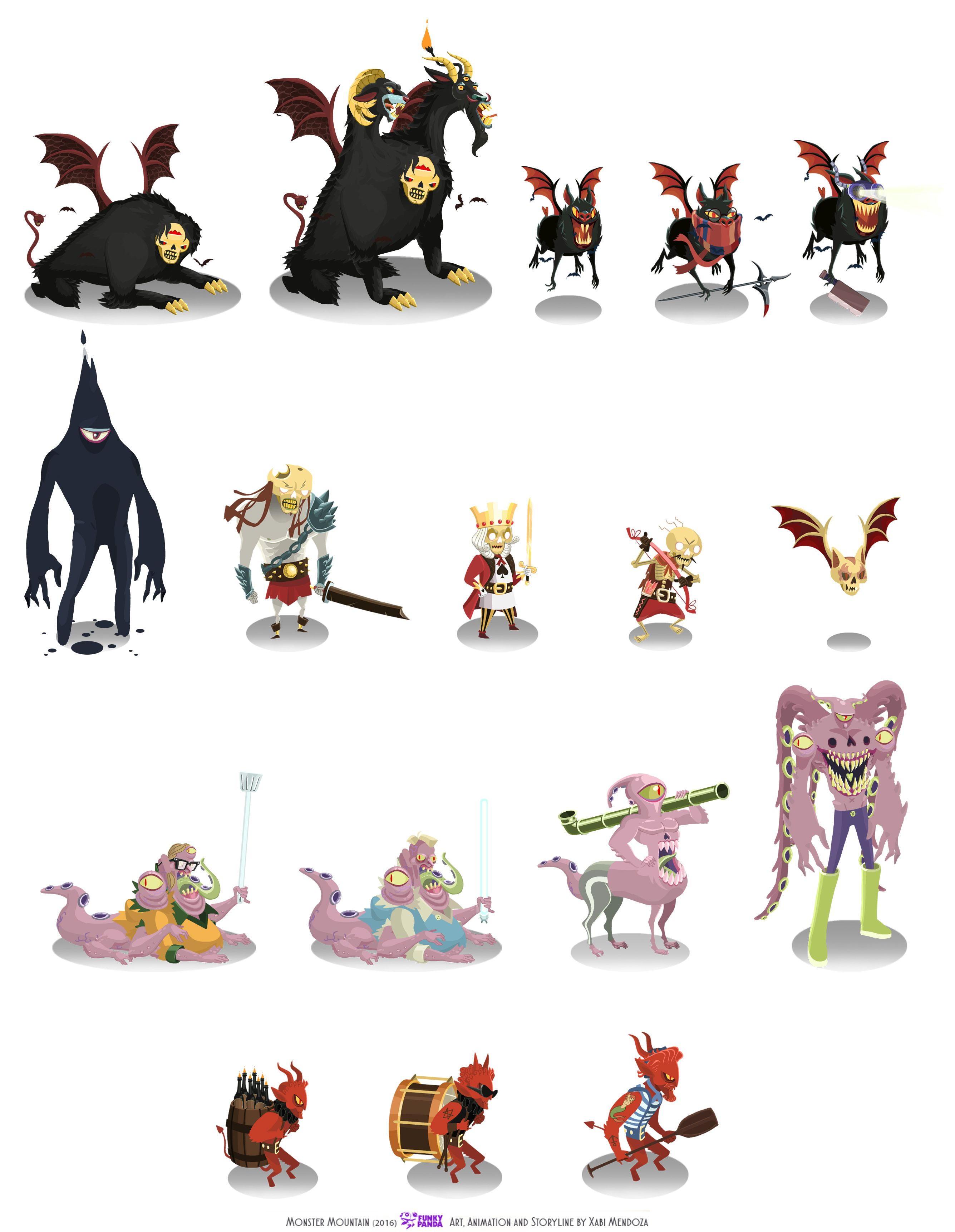 Animation For Monster Mountain A Rpg For Mobile Devices