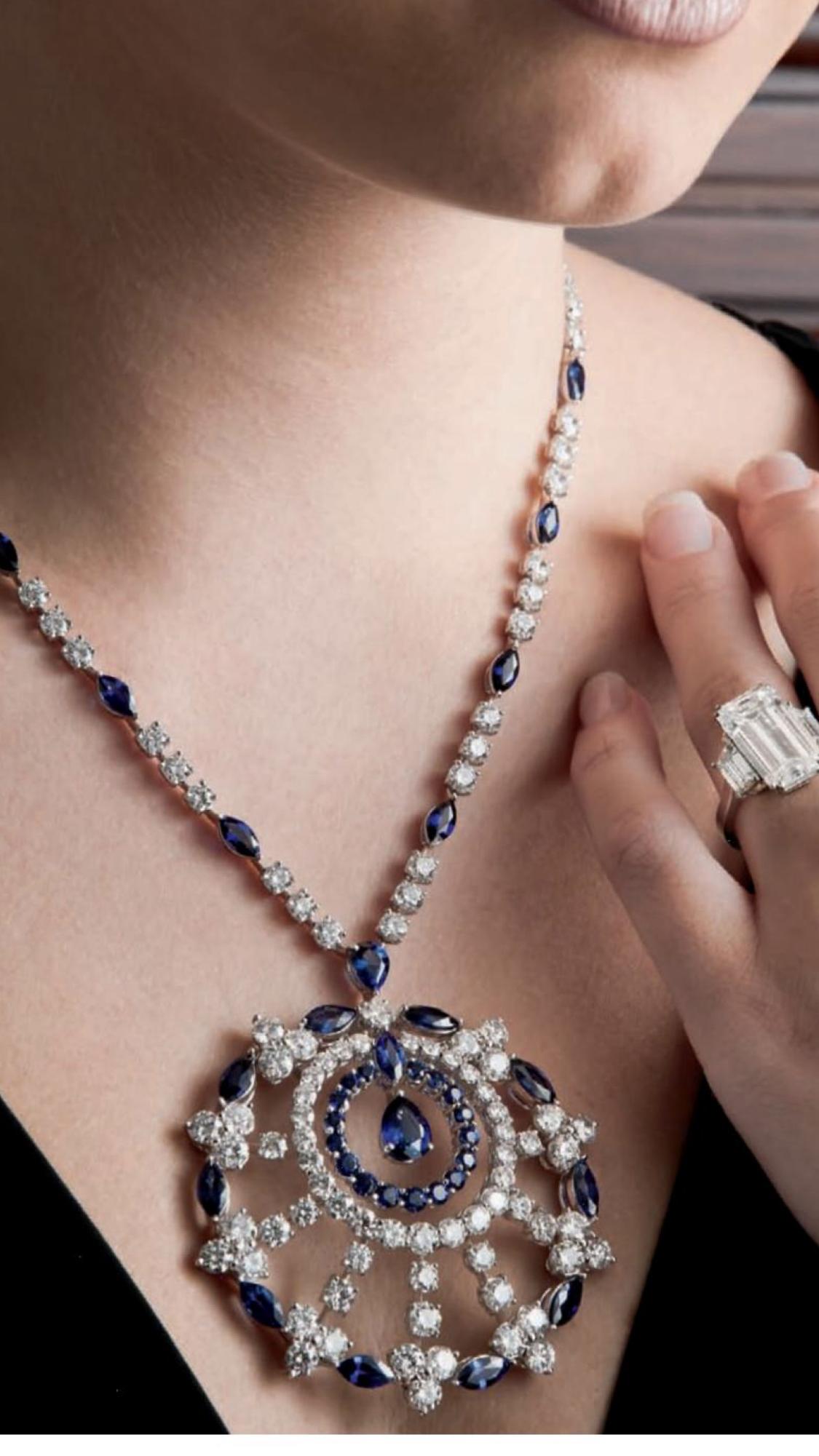 Pin By Manoj Kadel On Diamond Necklaces Colour Stone Perls