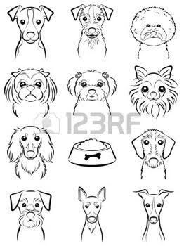 Image Result For Simple Dog Tattoo