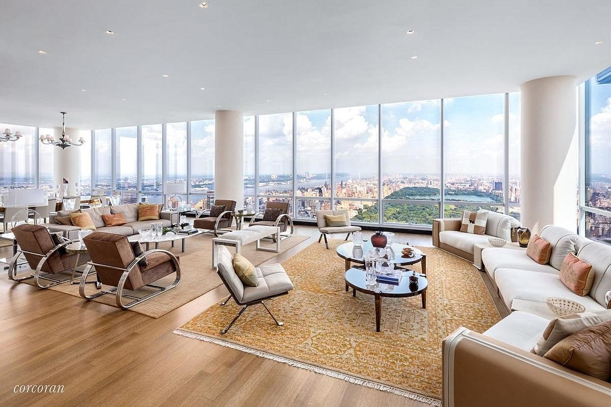 157 W 57th St PENTHOUSE 80, New York, NY 10019 | MLS ...