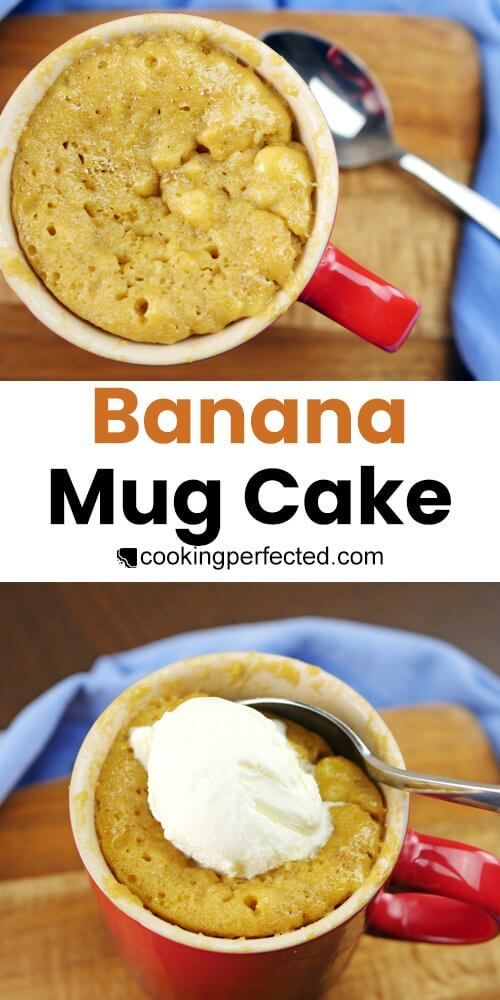 The Best Banana Mug Cake