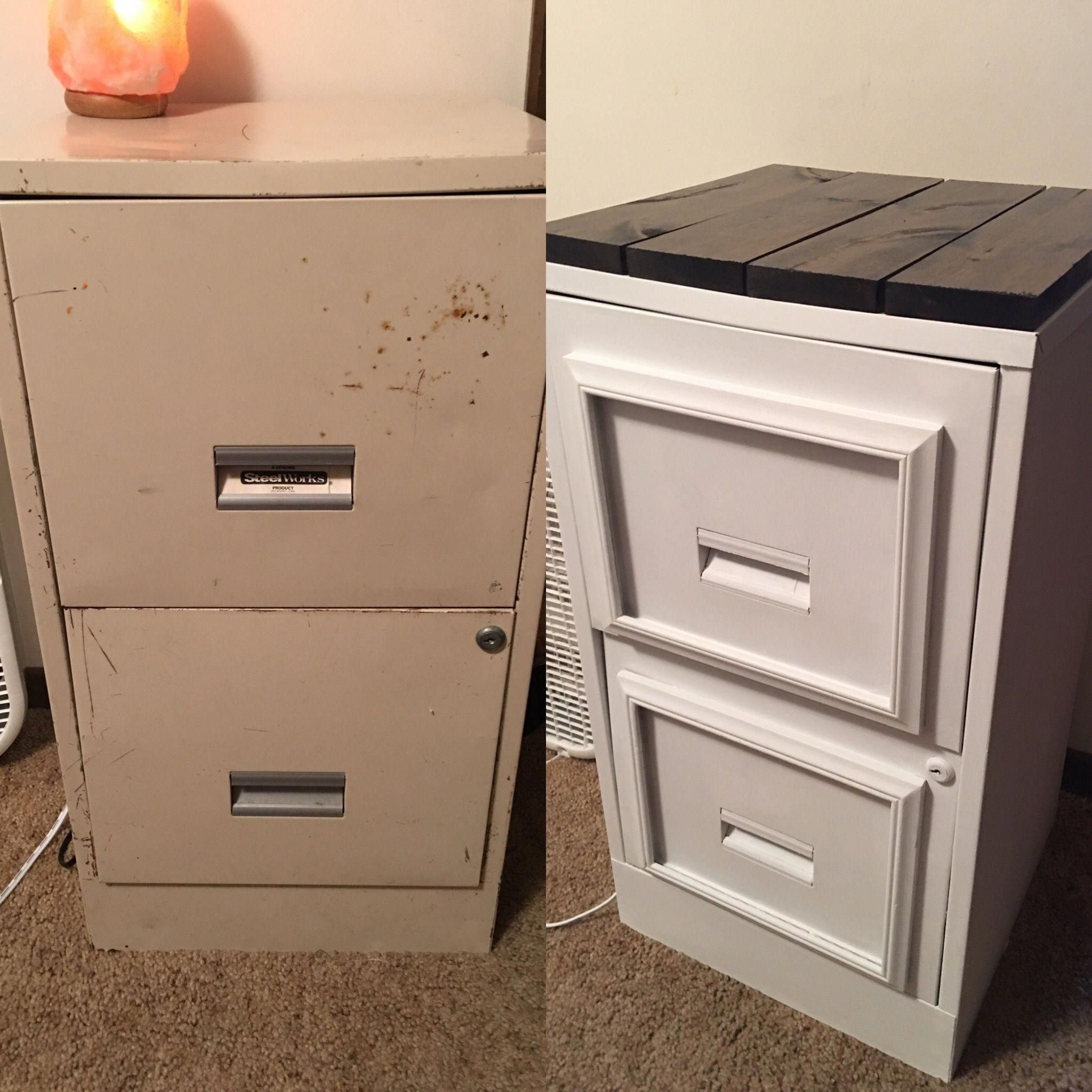 Www Furnituredeals Com: Filing Cabinet Makeover. Waverly Chalk Paint From Walmart