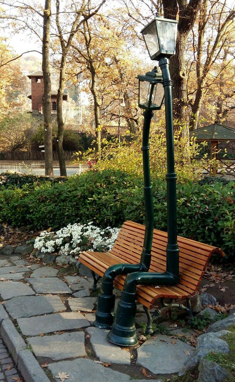 Torino Nel Giardino Roccioso Parco Del Valentino Novembre 2017 Torino Scultura Di Carta Paesaggi