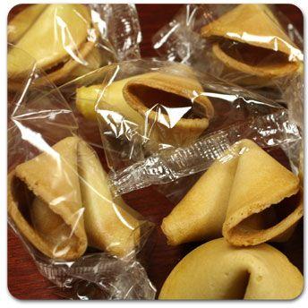 Empty Fortune Cookies
