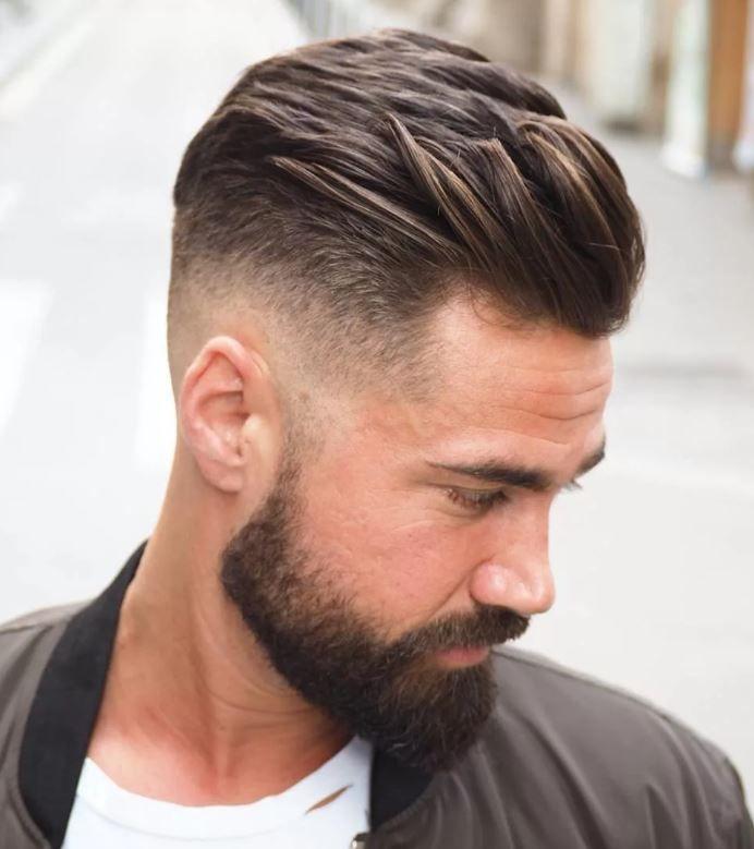 Men's question: the most fashionable men's haircut