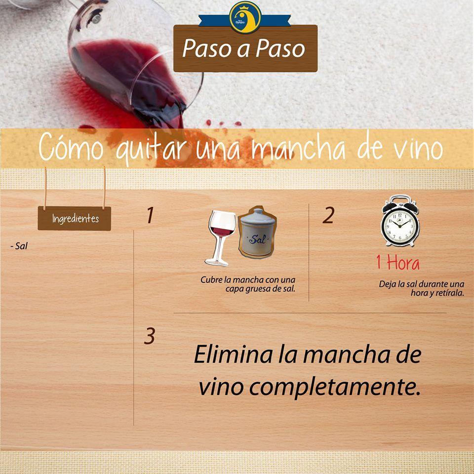 Hay Manchas Dif Ciles De Quitar Una De Ellas Es La Mancha De Vino  ~ Como Quitar Las Manchas De Vino Tinto