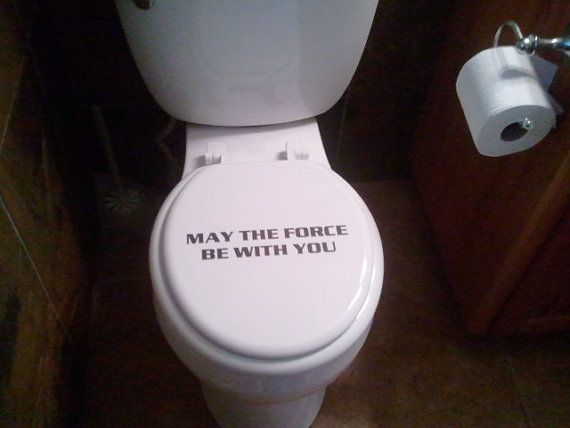 Star Wars Decor For The Home Page 6 Of 6 With Images Star Wars Bathroom Star Wars Decor Funny Bathroom Decor