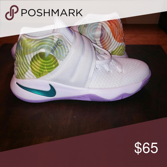 huge selection of 3e3ea 5b435 ... coupon new nike kyrie 2 easter boys size 3.5 a fresh pair of sneakers  from the