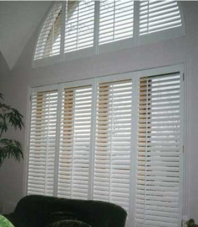 B22 Persiennes Blanches Baie Vitre 22 D 233 Co Blinds