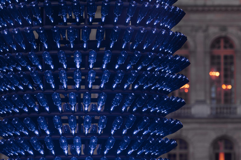 """Blue Champagne"" Joana Vasconcelos 2012"