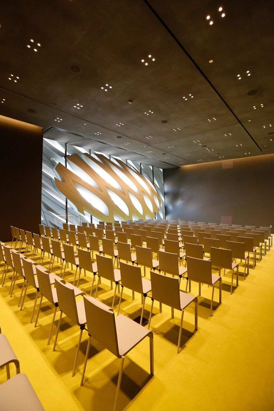 Inside Diller Scofidio Renfro S Broad Museum Hall Interior Design The Broad Museum Conference Room Design