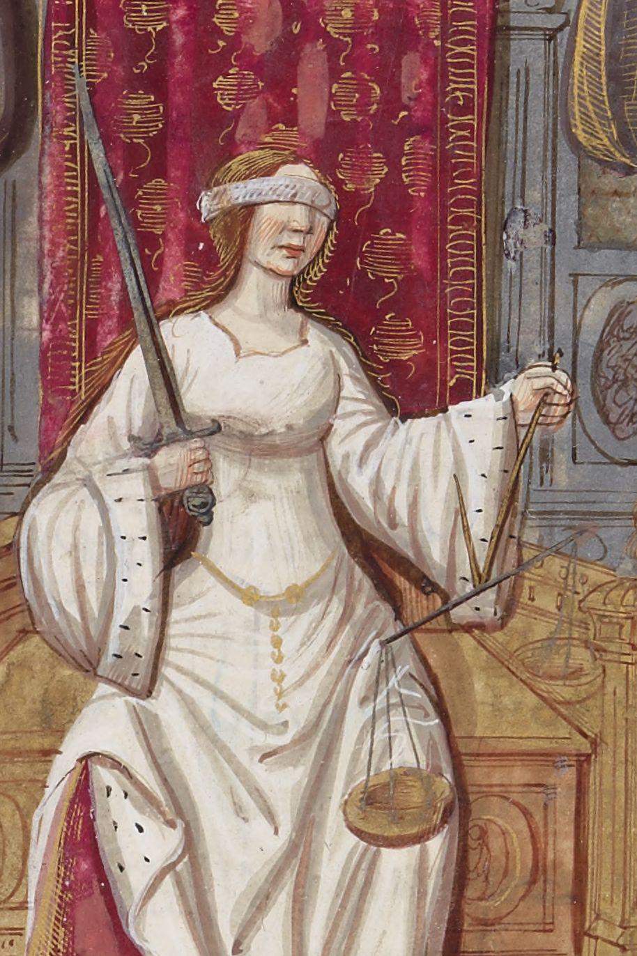 Lady Justice Lady Justice Medieval Art Justice