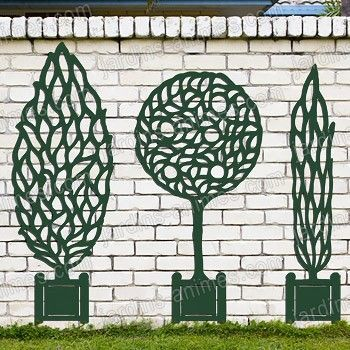 Decoration murale jardin | Domino panda