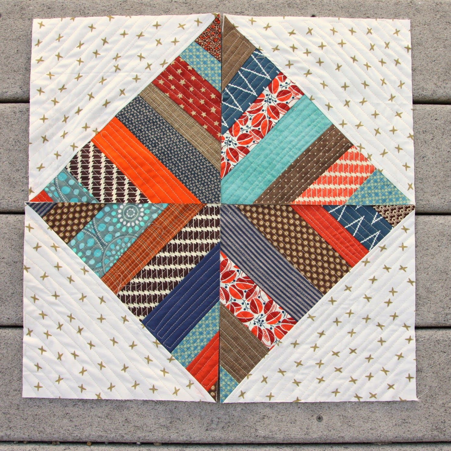 Modern Quilt As You Go Pattern Book Quilts Quilting Pinterest