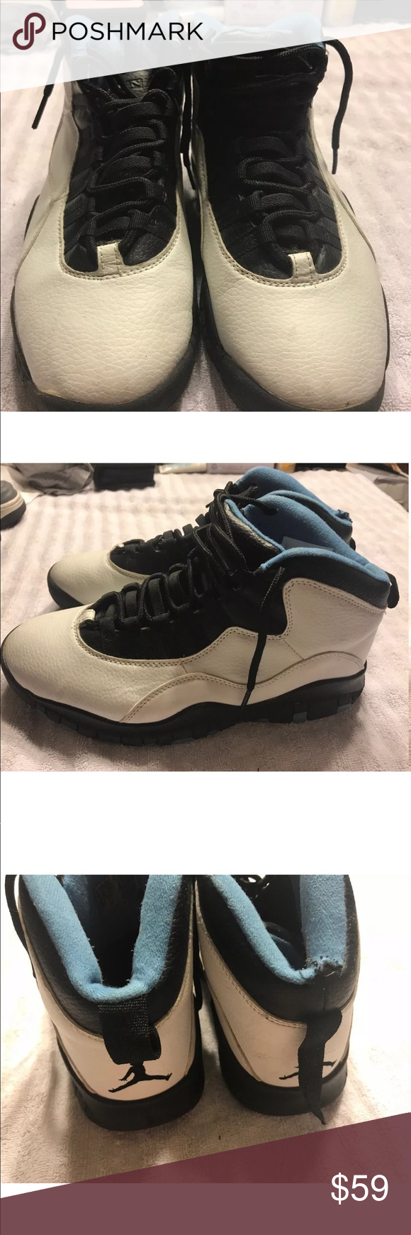 "adab70d5692 Nike Air Jordan Retro X 10 ""Powder Blue"" MENS 8 In my closet I have ..."