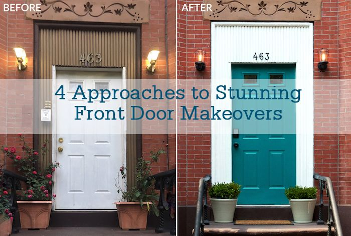 4 Approaches To Stunning Front Door Makeovers Httpunlockhlage