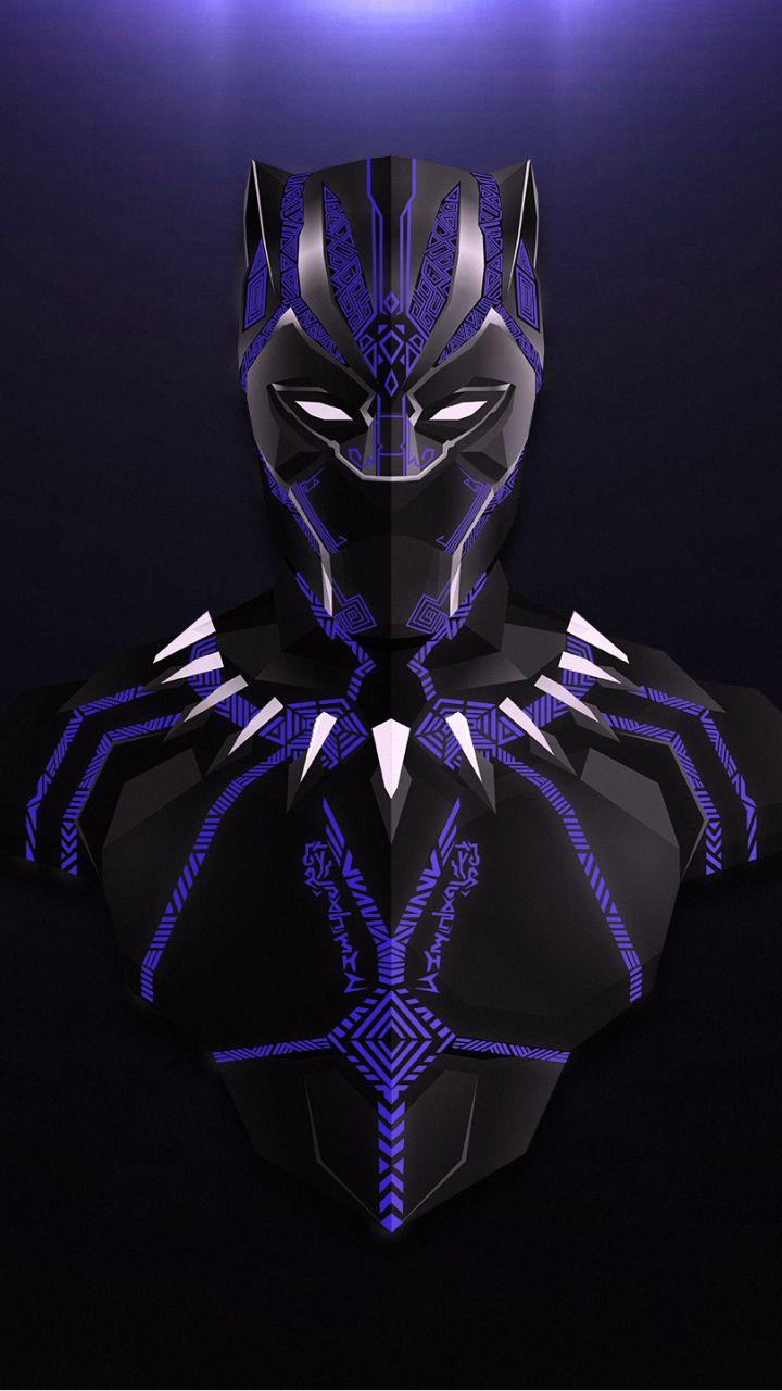 Download 720x1280 Wallpaper Black Panther Avengers Infinity War Minimal Fan Artwork Samsung Galaxy Mini S3 S5 Black Panther Marvel Black Panther Panther