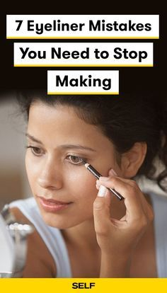 7 eyeliner mistakes you need to stop making  perfect