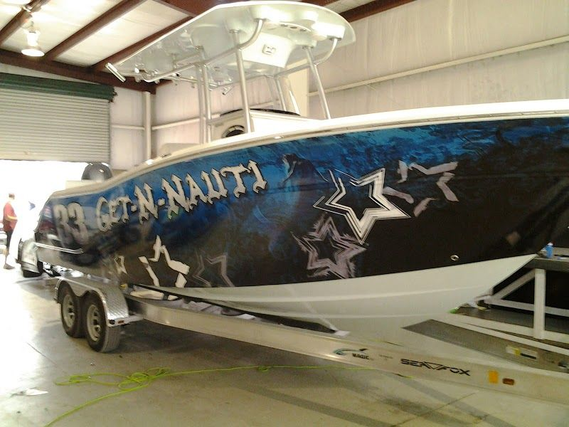 Boat Wrap Graphics Boat Wraps Fishing Boats Sport