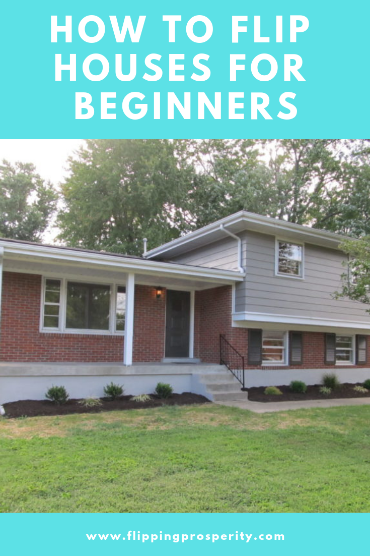 How To Flip Houses For Beginners Flipping House