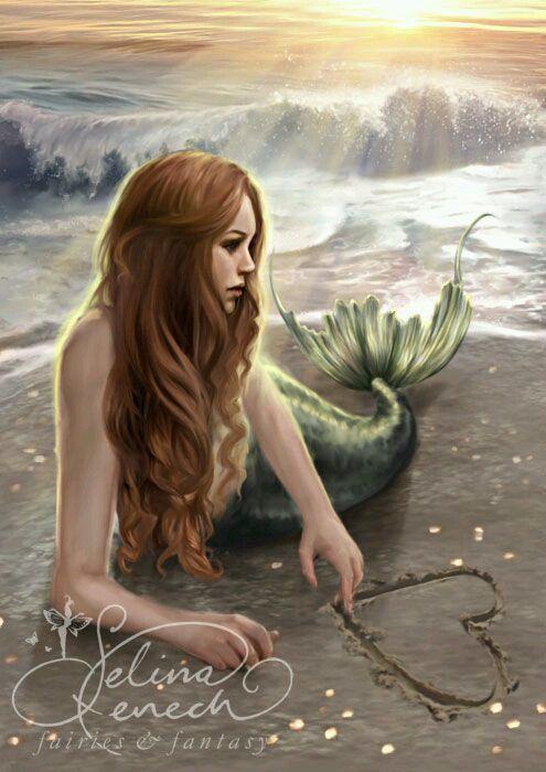 Gli Arcani Supremi Vox Clamantis In Deserto Gothian Mermaids And Sealand Mermaid Artwork Fantasy Mermaids Mermaid Art