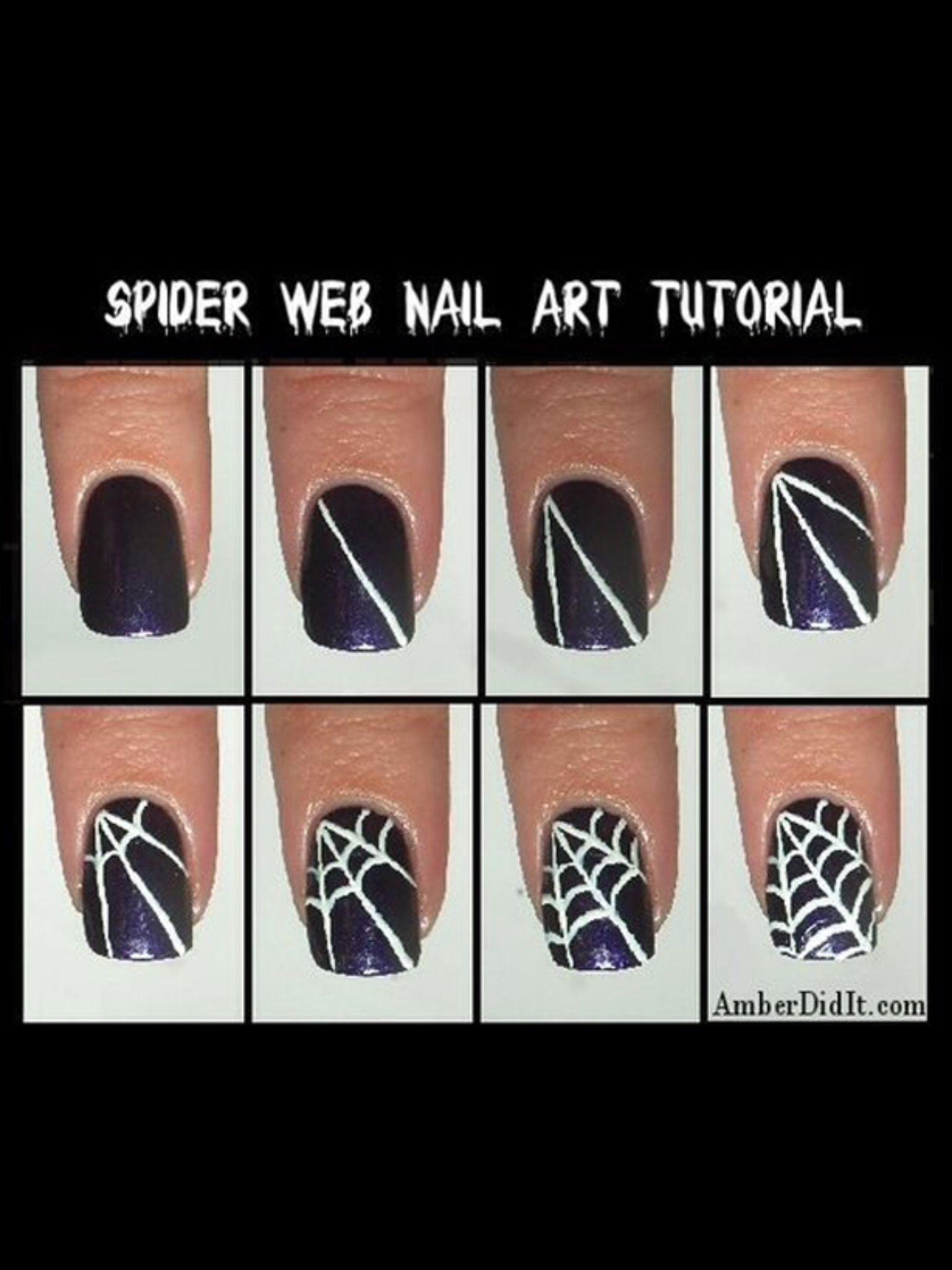 So Cute Nail Art Manicura Halloween Y Manicura Halloween