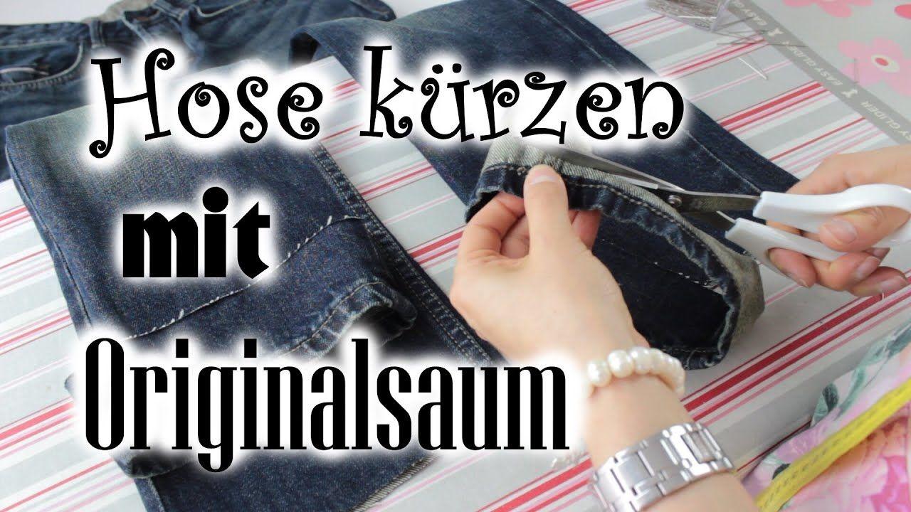 Hose kürzen - mit Originalsaum am Bsp. Jeanshose [Do it ...