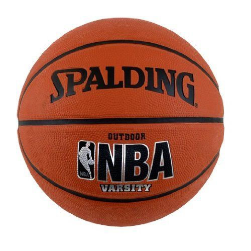 "Spalding NBA Youth Outdoor Basketball - Youth Size 5 (27.5"") by Spalding. $10.26. Features NBA Graphics. Designed to withstand the street game. Spalding Sport NBA Youth Basketball. Amazon.com                This youth basketball is endorsed by the NBA, so you know it has to be  good--it's even signed by NBA Commissioner David Stern. We found it to have  superlative grip and just the right amount of bounce for outdoor action. This  premium Spalding ball has a durable ..."