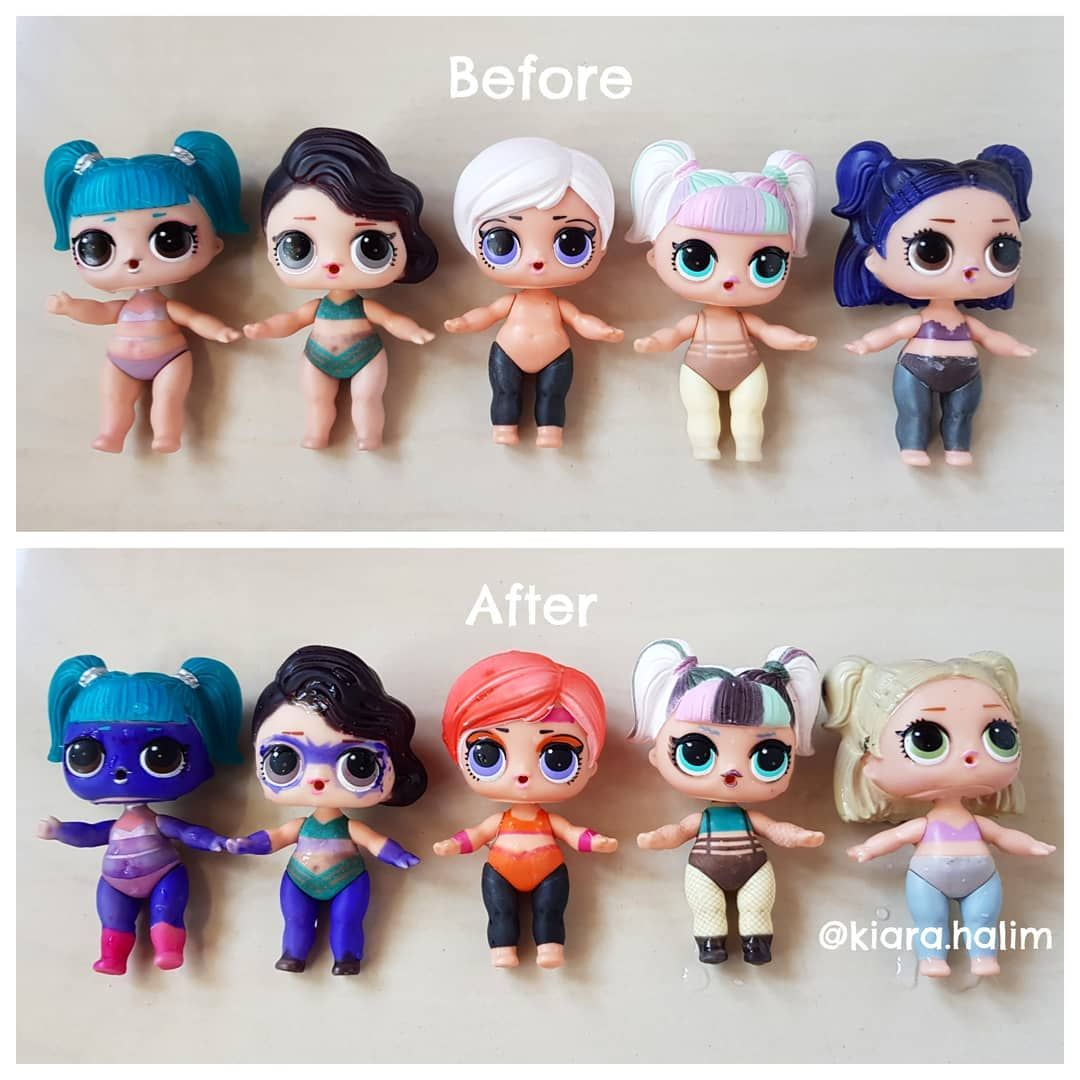 Some Of My Lol Dolls That Can Color Change Glamstronaut Black Tie Beatnik Babe Unicorn And Dusk Lolsurprise Lolsurpriseindon Lol Dolls Cute Toys Crafty Kids