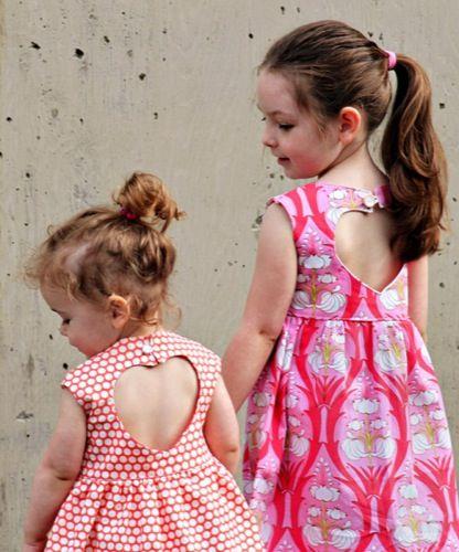 Patrón Vestido niña verano 2013 - Petit-On