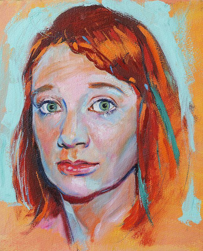 Kate Smith. Portrait for Julia Kay Portrait Party. | por Salazar- art