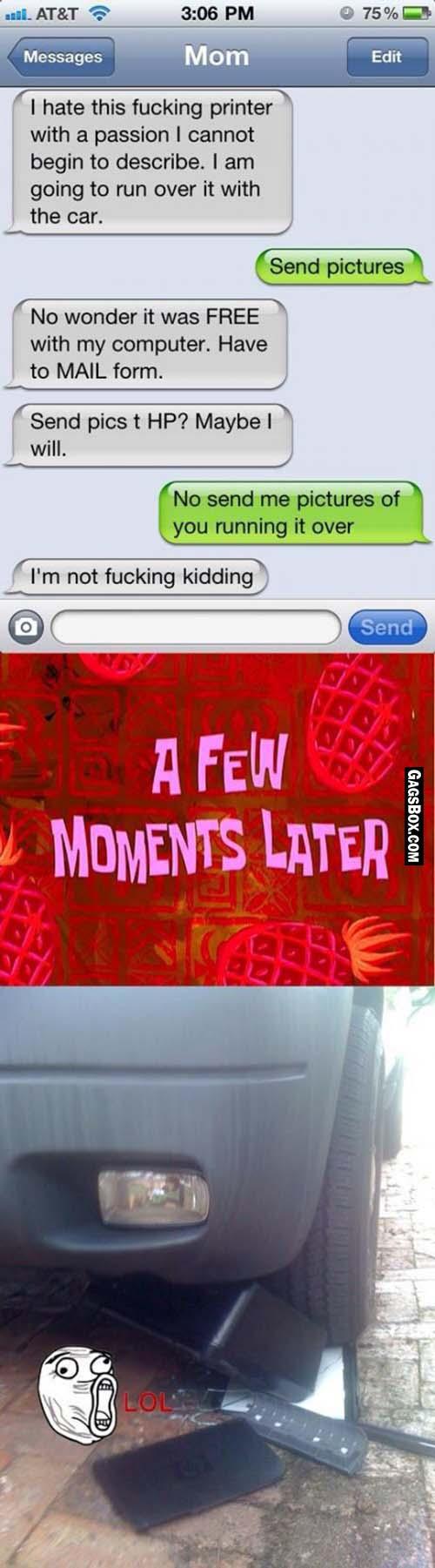 Fun box funny picture funny pic pic of fun funny image - Crazy Mom Funny Lol Fun Humor