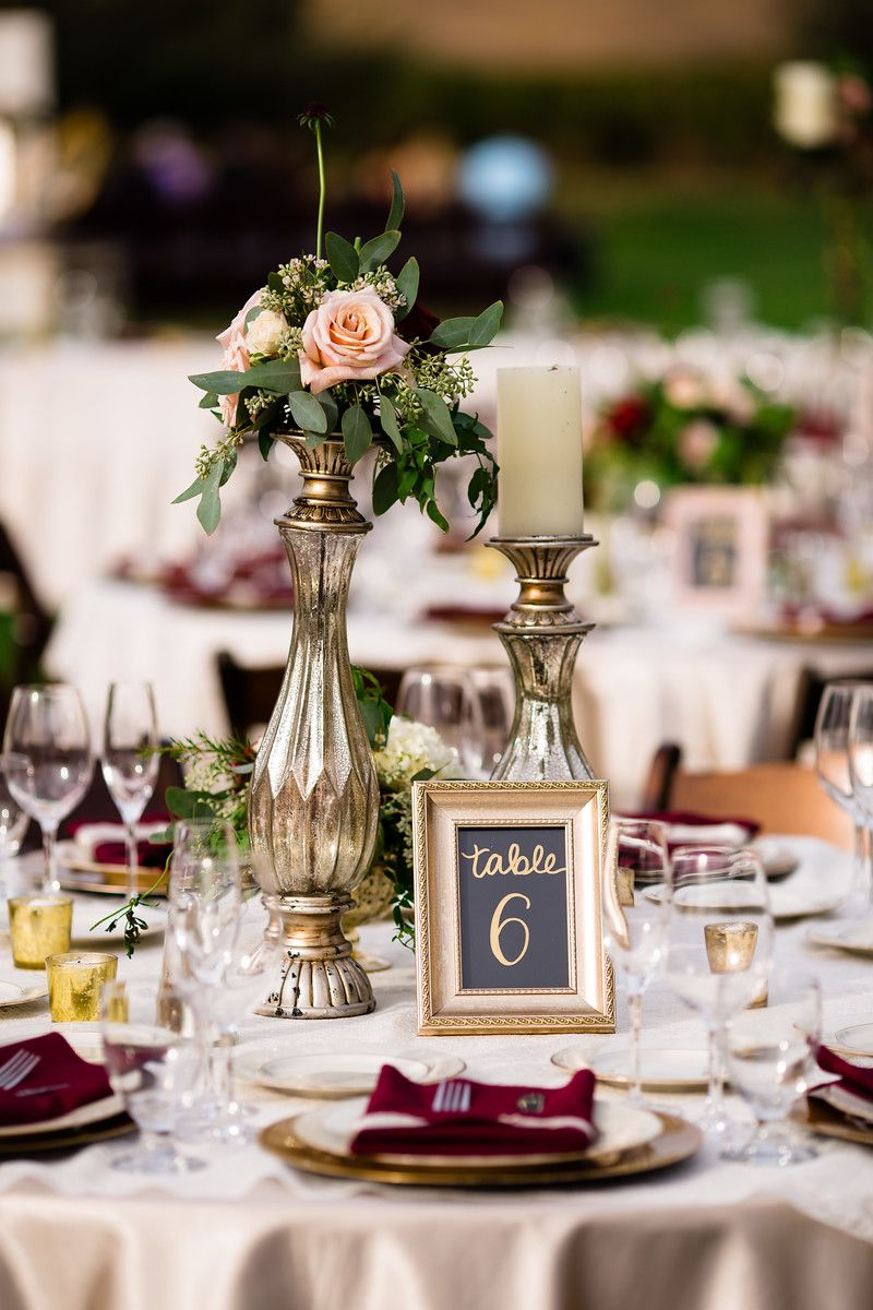 Brown Bunny Flowers Wente Vineyards Wedding Emilyandstevenphoto