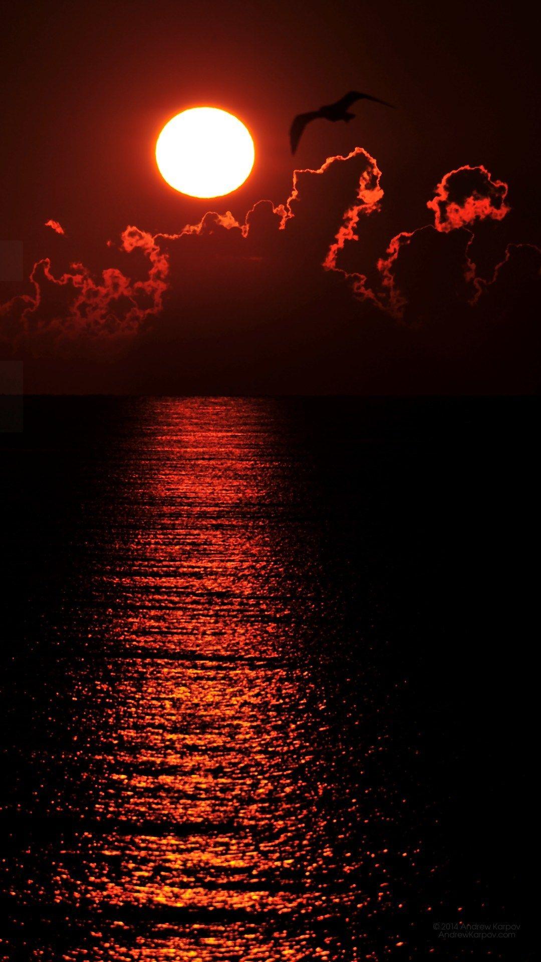 日の出の壁紙 1080 X 19 1080x19 無料デスクトップの壁紙 7869 Iphone Xの壁紙がダウンロードし放題 美しい月 美しい風景写真 夕焼け