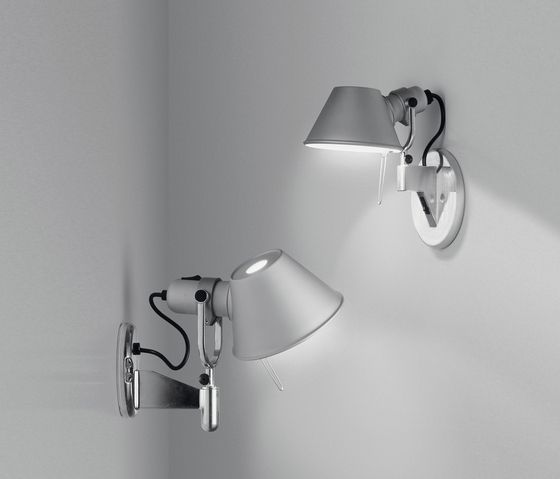 Tolomeo Micro Faretto Wall Lamp By Artemide Task Lights Lampara De Pared Paredes Iluminadas Apliques De Luz