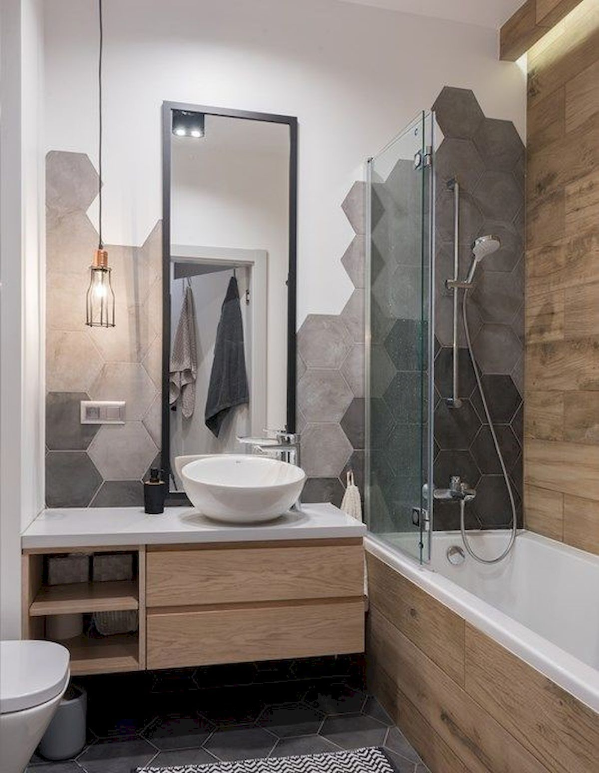 Obtain Motivated For The Renovation Of Your Tiny Shower Room With These 25 Little Shower Room Gray Bathroom Decor Neutral Bathroom Decor Bathroom Design Small Modern gray bathroom decor