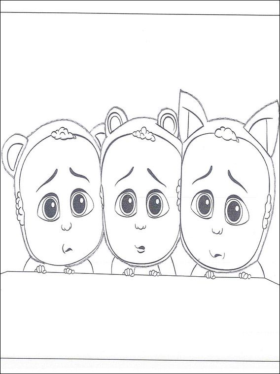 Boss Baby Coloring Pages 3