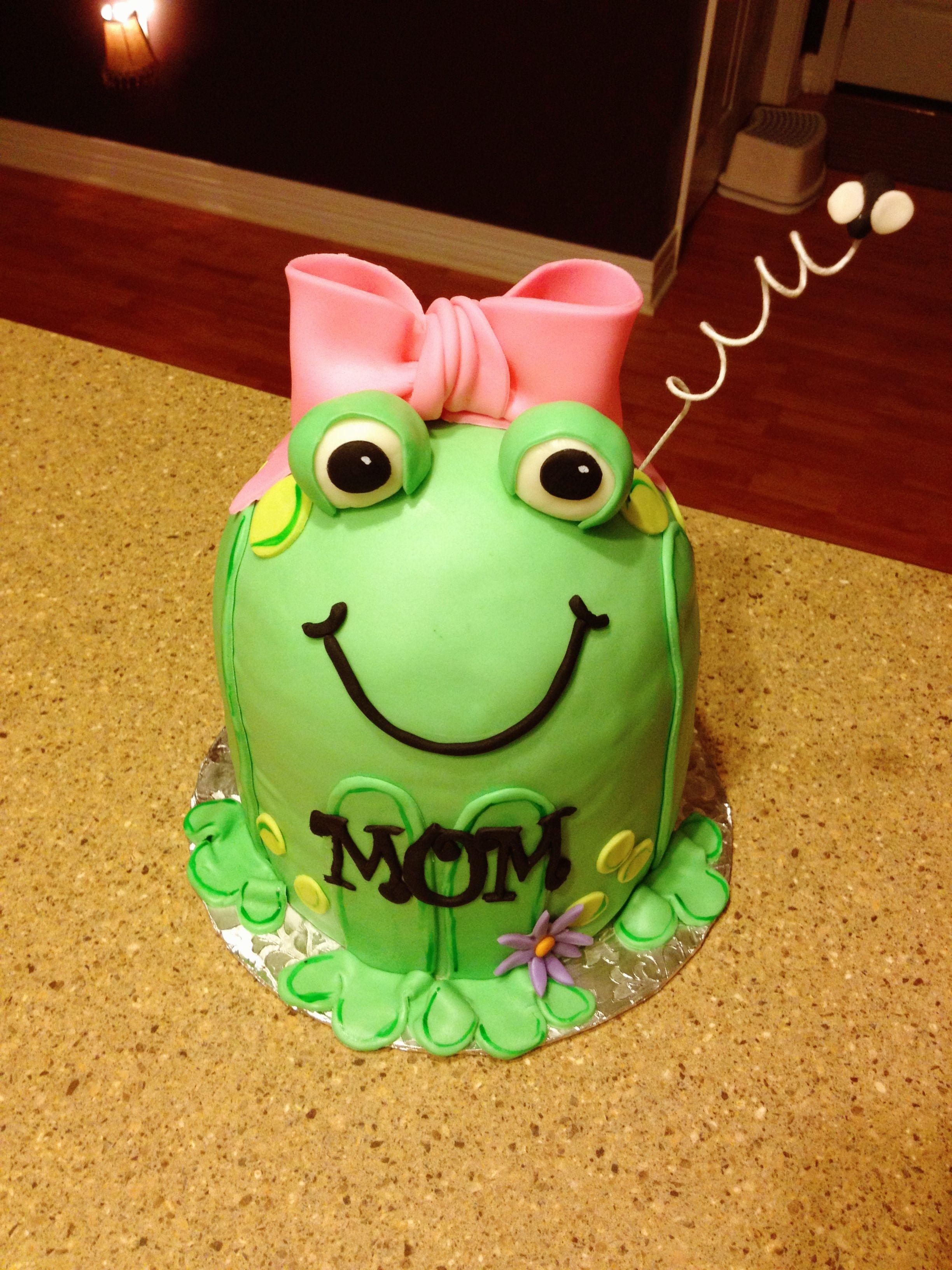 Frog Birthday Cake Cake Ideas Pinterest Birthday Cakes