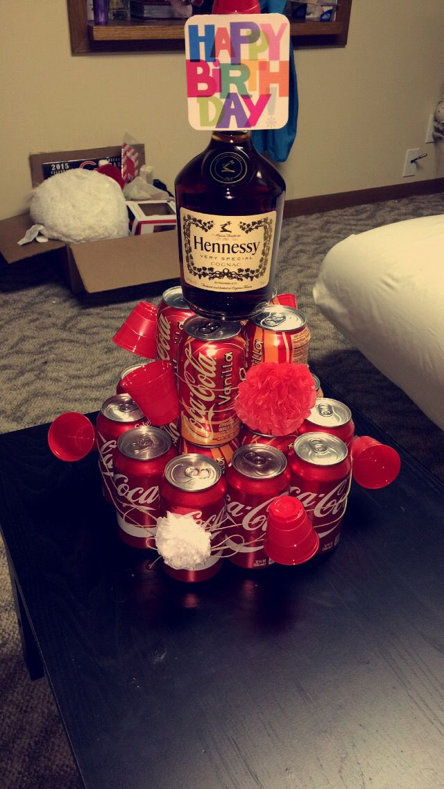 Boyfriends Gift Coke And Hennessy My Projects